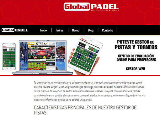 Software de padel